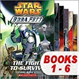 Star Wars Boba Fett Set (6 Books) (Star Wars Boba Fett, #1 The Fight to Survive; #2 Crossfire; #3 Maze of Deception; #4 Hunted; #5 A New Threat; #6 Pursuit) (0545262151) by Elizabeth Hand