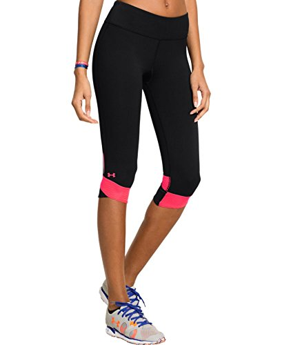 Under Armour Women's UA Fly-By Compression Capri X-Small Black