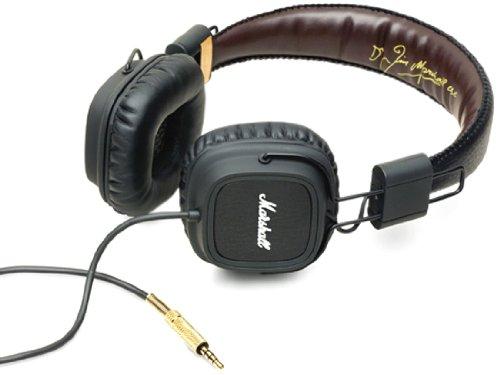 【国内正規品】 Marshall メジャー FX ヘッドフォン ブラック 4090420