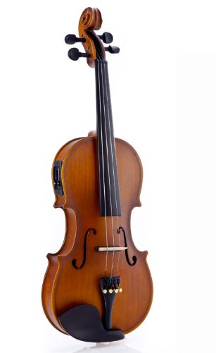 Fever Acoustic Electric Violin, Full Size 4/4,