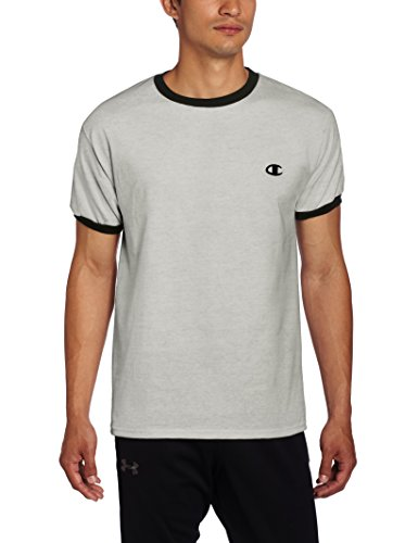 champion-t-shirt-homme-multicolore-oxford-gray-navy-petit