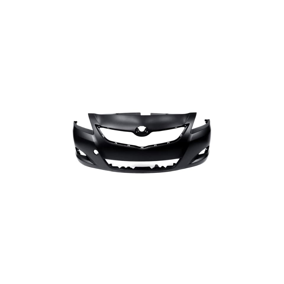 CarPartsDepot, CAPA Certified Unpainted Front Bumper Cover Replacement Assembly Primered Black, 352 44813 10 CA TO1000321 5211952934