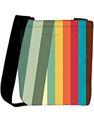 Snoogg Slant Multi Color Designer Womens Carry Around Cross Body Tote Handbag Sling Bags