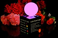 PK Green Set of 3 Ball Shaped LED Mood Lights Colour Changing Lamps by PK Green