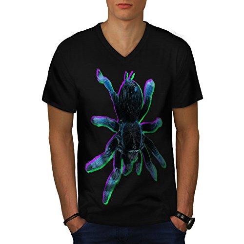 araign-e-tarentule-art-effrayant-homme-nouveau-noir-l-t-shirt-wellcoda