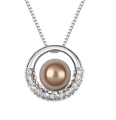 Boxingcat Fine Jewelry Clear Austrian Pearl Pendant Necklaces Bgca5839 front-846052