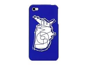 Cellet Love Map Proguard Case for Apple iPhone 4/4S - Blue