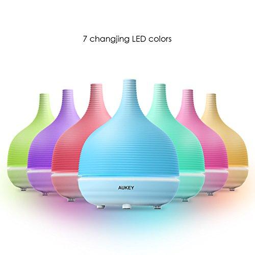 AUKEY-Diffusore-di-Aromi-ad-Ultrasuoni-500ml-Umidificatore-con-7-colore-LED-per-il-Salone-di-Bellezza-SPA-Yoga-Camera-da-Letto-Soggiorno-Sala-Conferenze