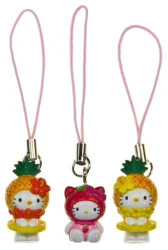 Hello Kitty 'Fruit is Good A' Mini-Figure Charm