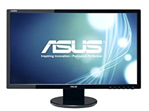 ASUS VE248H 24-Inch Full-HD LED-lit LCD Monitor with Integrated Speakers from ASUS Computer International Direct