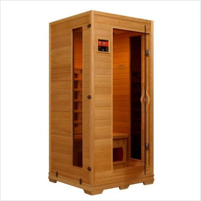 1 - 2 Person Infrared Sauna with 4 Ceramic Heaters