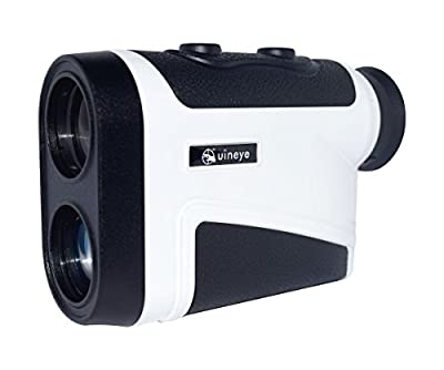 Golf Rangefinder, Bluetooth Compatible Laser Range Finder with Height, Angle, Horizontal Distance Measurement Perfect for Hunting, Golf, Engineering Survey from Uineye