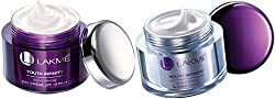 Lakme Youth Infinity Skin Firming Spf 15 Pa++ Day Cream 50 Gm + Night Cream 50 Gm Combo Pack With Free Ayur Sunscreen 50 Ml