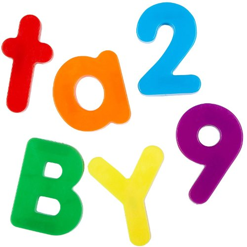 Jumbo Magnetic Letters And Numbers, Set Includes 40 Uppercase Letters, 40 Lowercase Letters And 36 Numbers And Operations front-1069824
