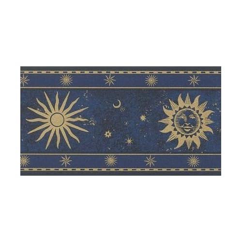 celestial wallpaper border