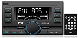 Pyle PLRDD19UB Bluetooth Digital Receiver with USB/SD Card Readers, AM/FM Radio, AUX Input, Remote Control, Double-DIN