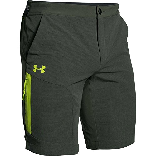 Under Armour Armourvent Trail Short - Men's Combat Green Medium