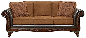 Chelsea Home Furniture Sheila Sofa - Wink Chestnut