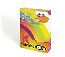 Kwizniac Kidz: The Trivia Countdown Game
