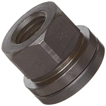12L14 Steel Hex Nut, Black Oxide Finish, Right Hand Threads, Inch, Made in US