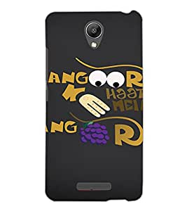 XIAOMI REDMI NOTE 2 TEXT Back Cover by PRINTSWAG