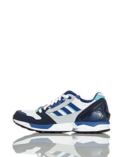 adidas Sneaker Zx 8000 [Bianco/Blu]
