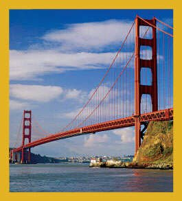 Gift Trenz Golden Gate Bridge Magnetic Bookmark