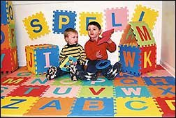 Picture of Fun Kids Alphabet and Numbers Puzzle Mat; Upper Case & Numbers (B0056JKQMM) (Puzzle Play Mats)