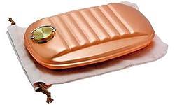 新光堂 純銅製 湯たんぽ 袋付 2.3 LS-9395