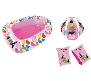 strand set barbapapa schlauchboot wasserball computer zubeh r. Black Bedroom Furniture Sets. Home Design Ideas