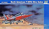 F-107A Ultra Sabre Jet 1-72 by Trumpeter