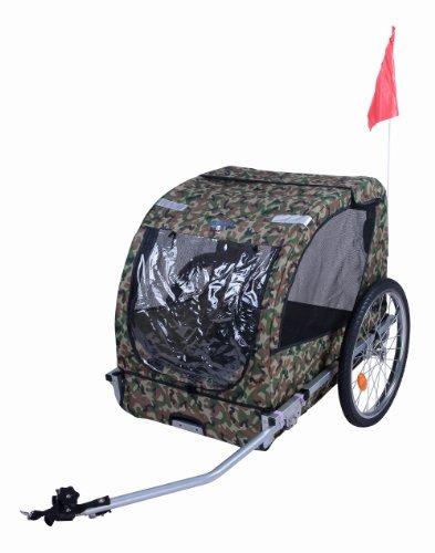 Camouflage Pet Bike Trailer Dog Stroller Cat Carrier Bicycle