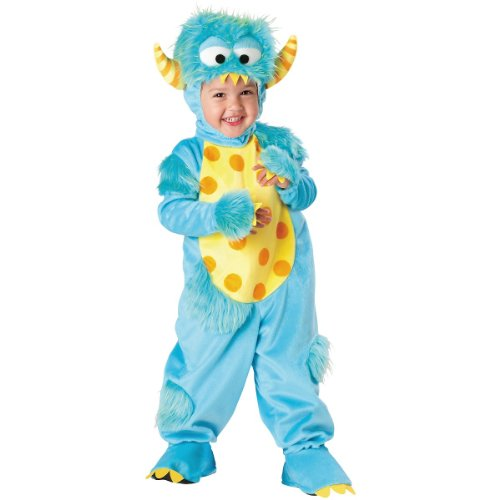 Incharacter Costumes Baby'S Lil' Monster, Blue, Small(3T) front-888895