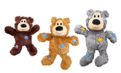 KONG Wild Knots Bears Durable Dog Toys Med/Large
