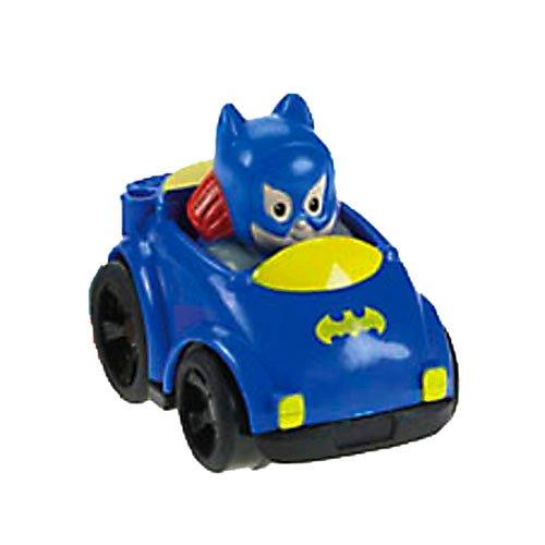 Fisher Price Little People DC Super Friends Wheelies Batgirl - 1