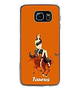 Taurus 2D Hard Polycarbonate Designer Back Case Cover for Samsung Galaxy S6 G920I :: Samsung Galaxy G9200 G9208 G9208/SS G9209 G920A G920F G920FD G920S G920T