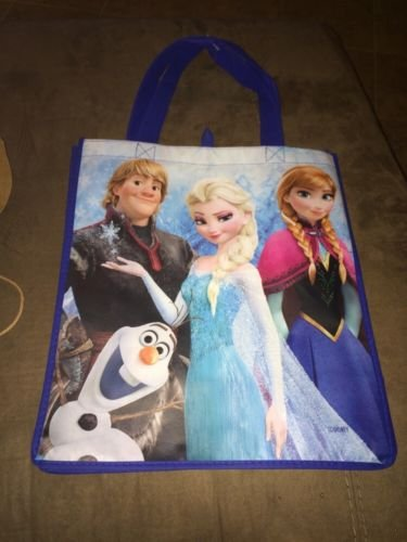 Disney Frozen Reusable olaf anna elsa gift Tote Bag Trick or Treat Halloween (Frozen Trick Or Treat Bucket)