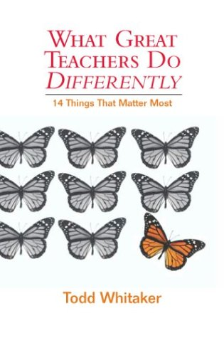 What Great Teachers Do Differently: 14 Things That Matter...