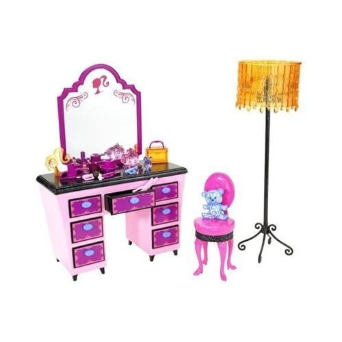 Barbie glam vacation house furniture complet sets new ebay for Accessoire maison barbie
