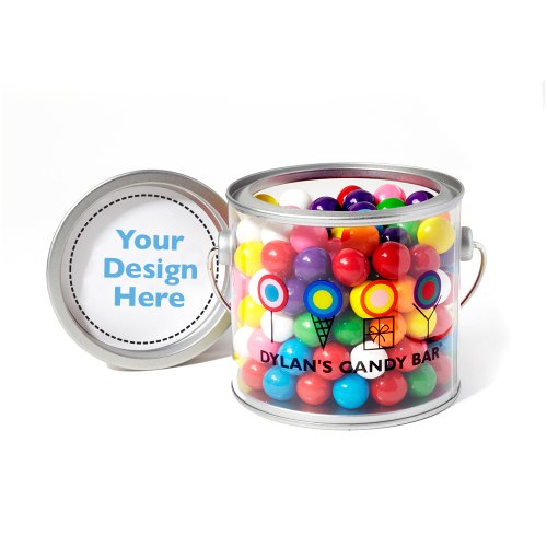 Dylan's Candy Bar Personalizable Gumballs Paint Can