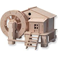 3-D Wooden Water Mill  Puzzle