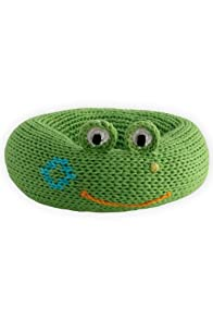 Joobles Organic Baby Rattle - Flop the Frog
