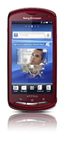 Sony Ericsson Xperia pro Smartphone (9.4 cm (3.7 Zoll) Tochscreen, 8.1 Megapixel Kamera, 1GB Speicher, Android 2.3) rot