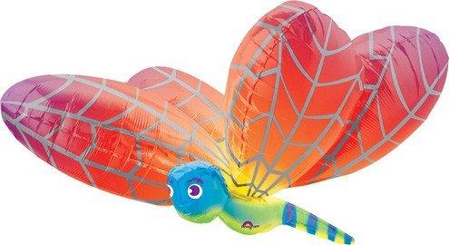 "40"" Rainbow Dragonfly Large Balloon - 1"