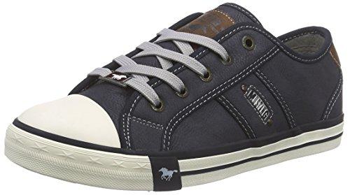 Mustang 1209-301, Damen Sneakers, Blau (800 dunkelblau), 42 EU (8 Damen UK)