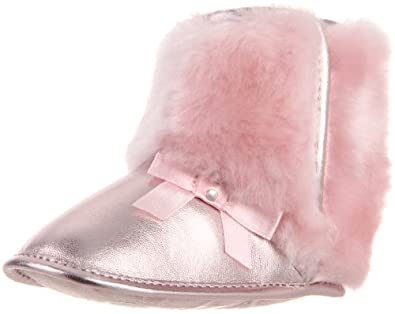 Stuart Weitzman Layette Baby Fox Boot (Infant/Toddler),Lt. Pink,4 M US Toddler