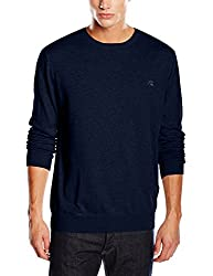 Quiksilver Men's Cotton Sweater (3613370725045_EQYSW03070_XL_Navy Blazer)