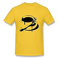 Design Men's Short Sleeves Coffee Drips T-shirts from SSTS