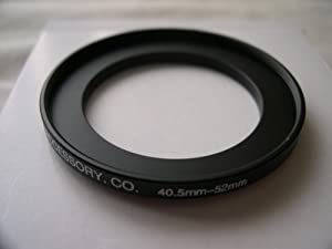 HeavyStar Dedicated Metal Stepup Ring 40.5mm-52mm