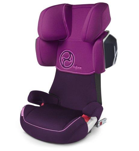 Cybex 513117001 Solution X2-Fix Autositz, Violet